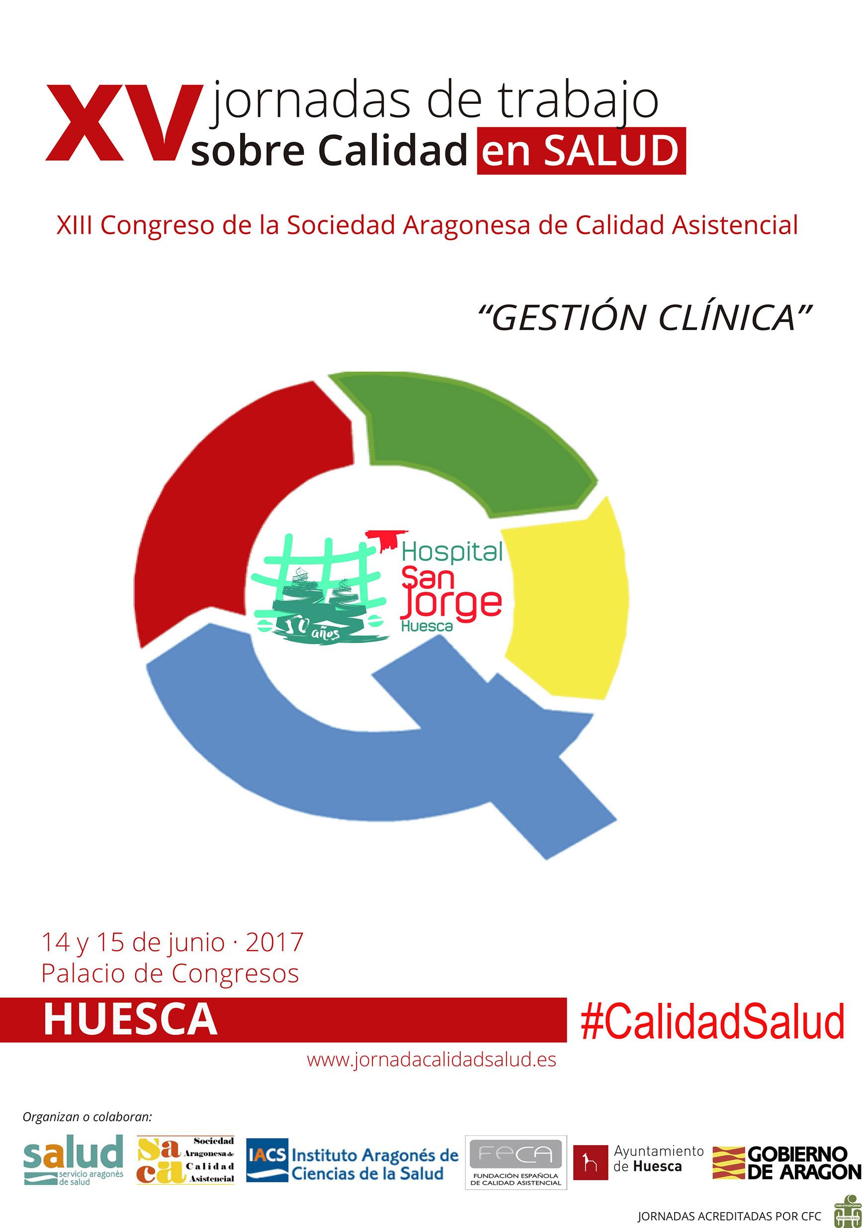 Cartel Jornadas de Calidad en Salud 2019